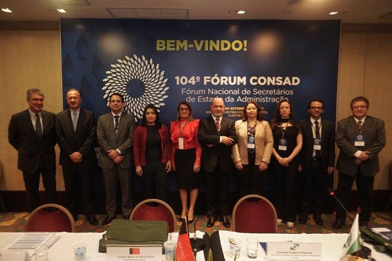 Encerrado o Fórum Consad no Paraná