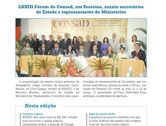 Jornal Consad nº 30 – 2009