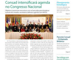 Jornal Consade nº 39 – 2011