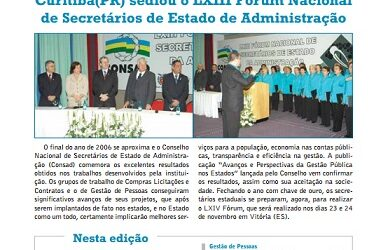Jornal Consad nº20 – 2006