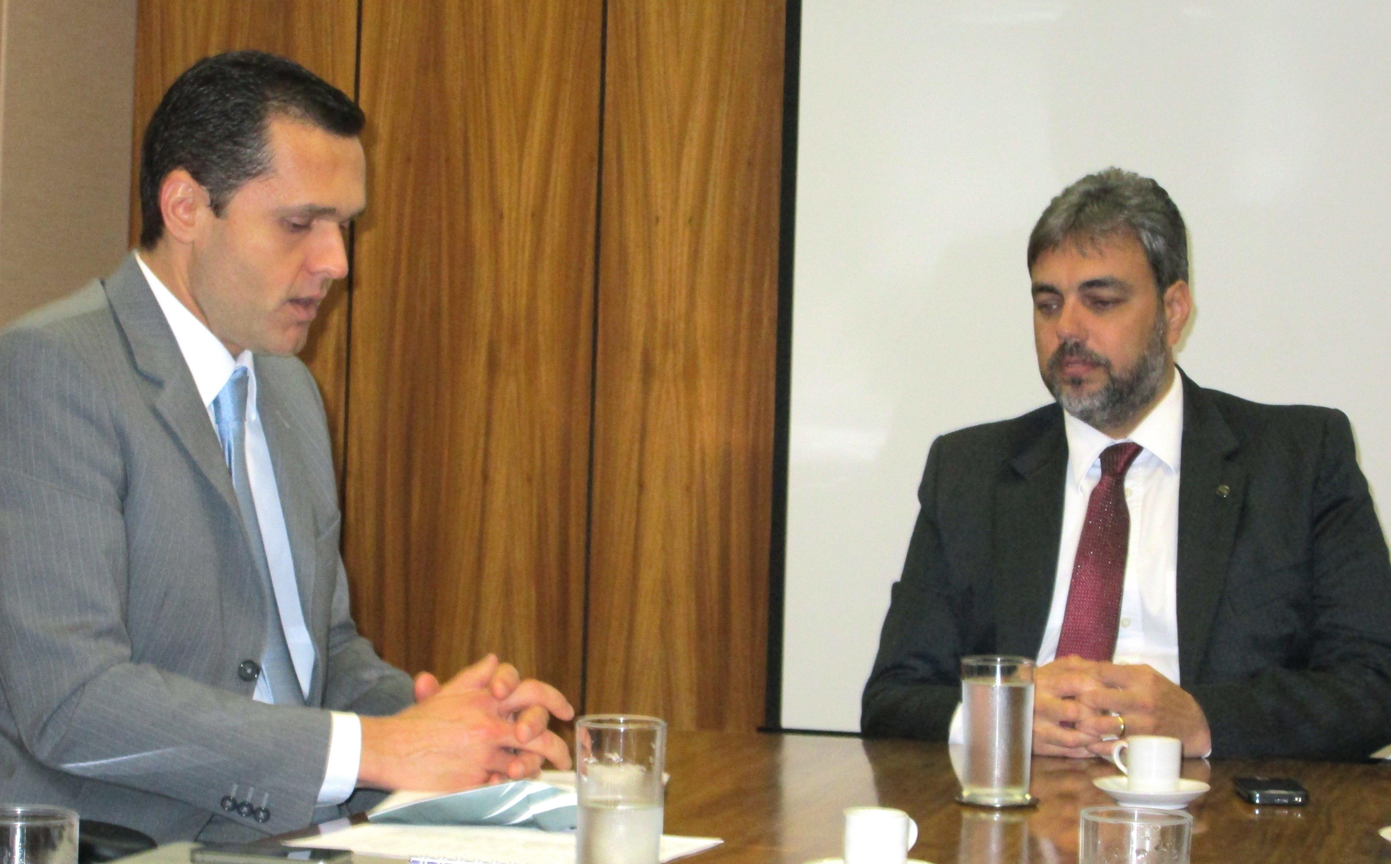 Presidente Eduardo Diogo participa de audiência no Ministério do Planejamento