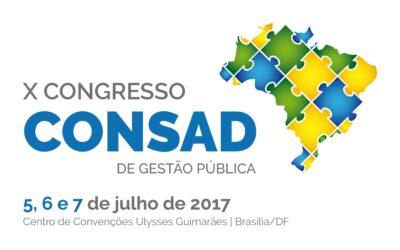 X CONGRESSO CONSAD DE GESTÃO PÚBLICA