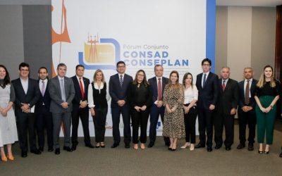 113ª edição do Fórum Conjunto Consad/Conseplan reúne mais de 26 estados para discutir gestão pública