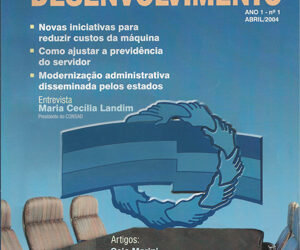 Revista Governança e Desenvolvimento edição nº 1