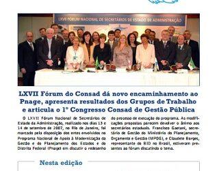 Jornal Consad nº24 – 2007