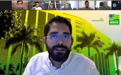 Vice-governador de Goiás participa de reunião com o GT de Ciências de Dados